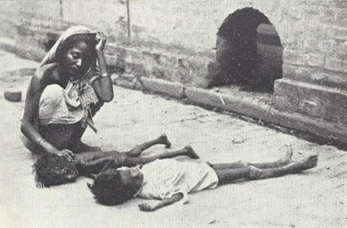 Tragedy in Calcutta.