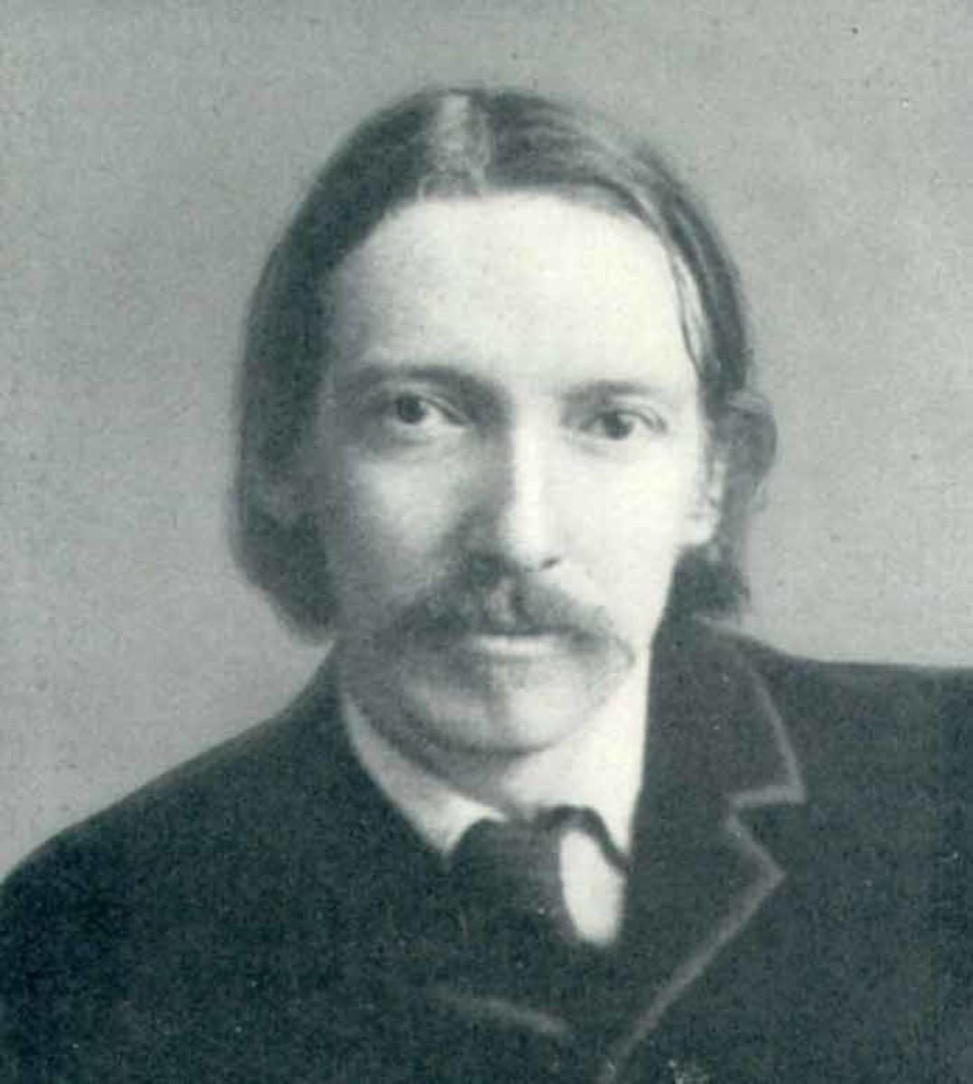 Robert Louis Stevenson, (November 13, 1850 - December 3, 1894)