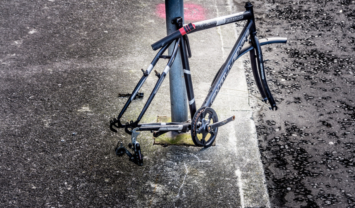 Even if you use a quality lock on your frame, other bike components can be stolen easily.