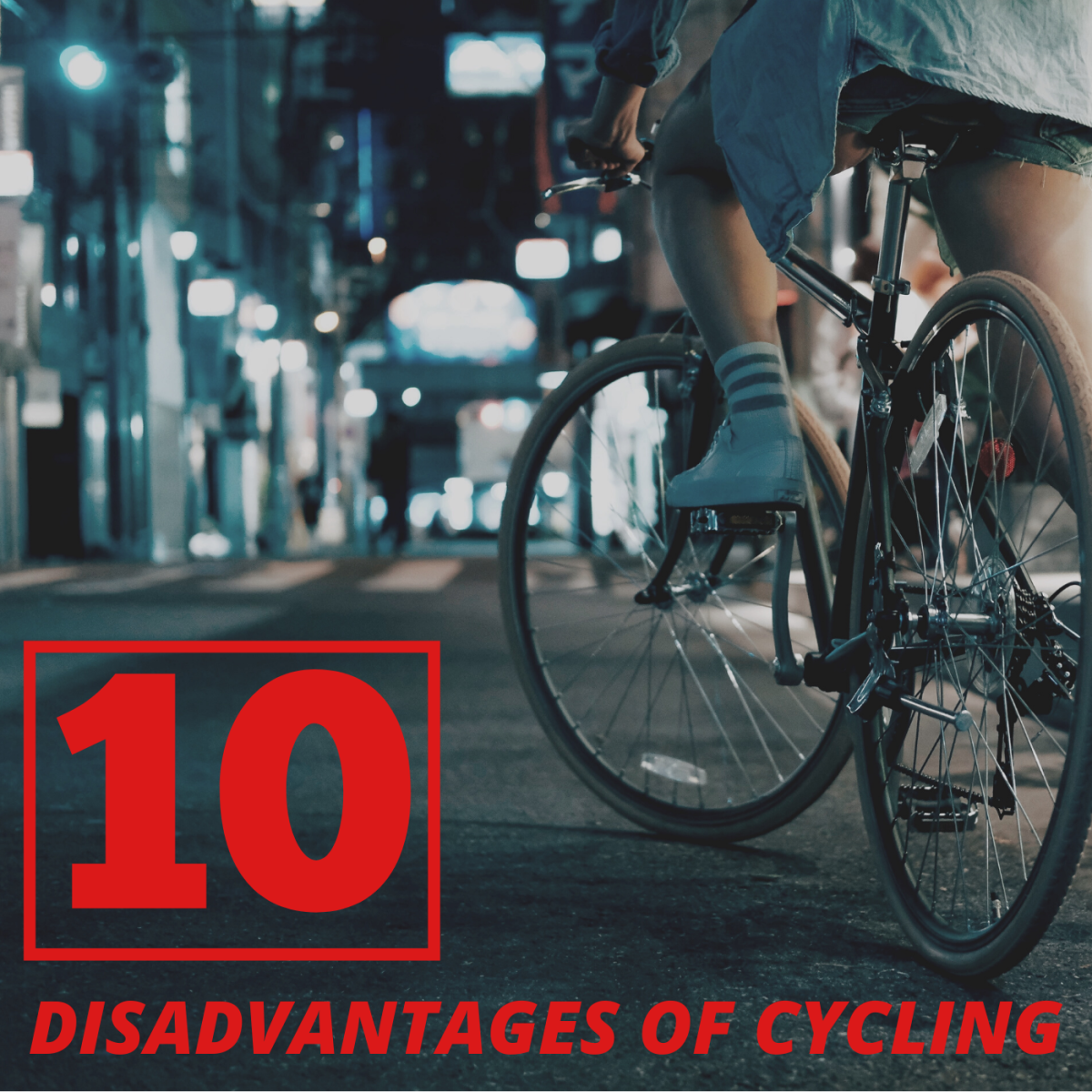 Riding a bike is fun, cheap, and eco-friendly, but like all modes of transportation, it comes with drawbacks as well.