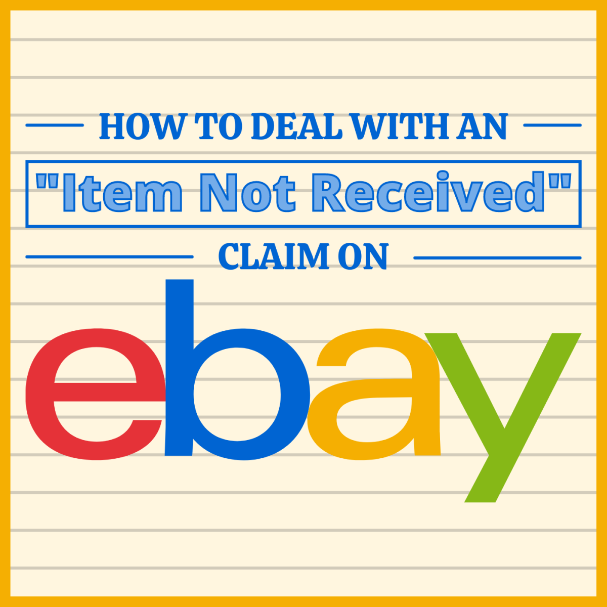 If an eBay buyer claims they didn't receive an item you sent them, you may not owe them a refund.