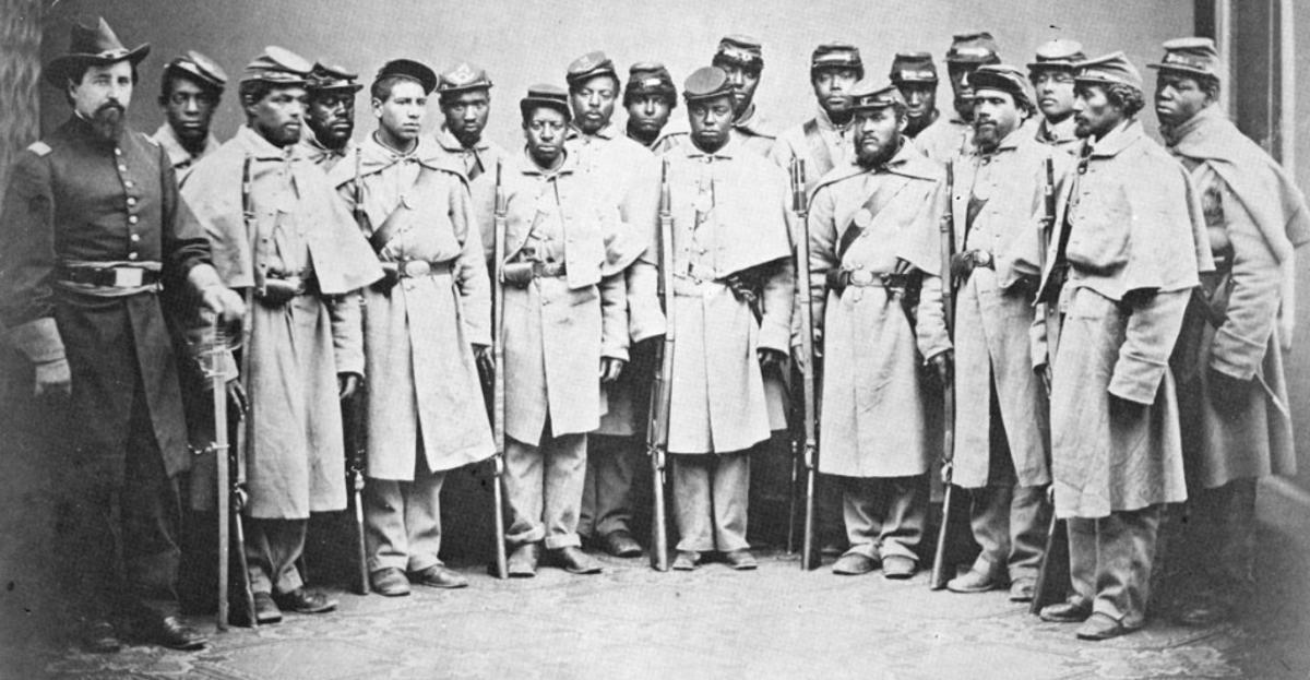 25th Black Union Infantry Regimen