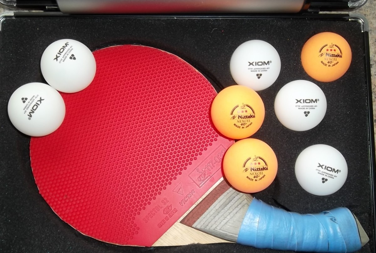 Nittaku ITTF Approved 3 star Orange Nexcel Table Tennis Balls
