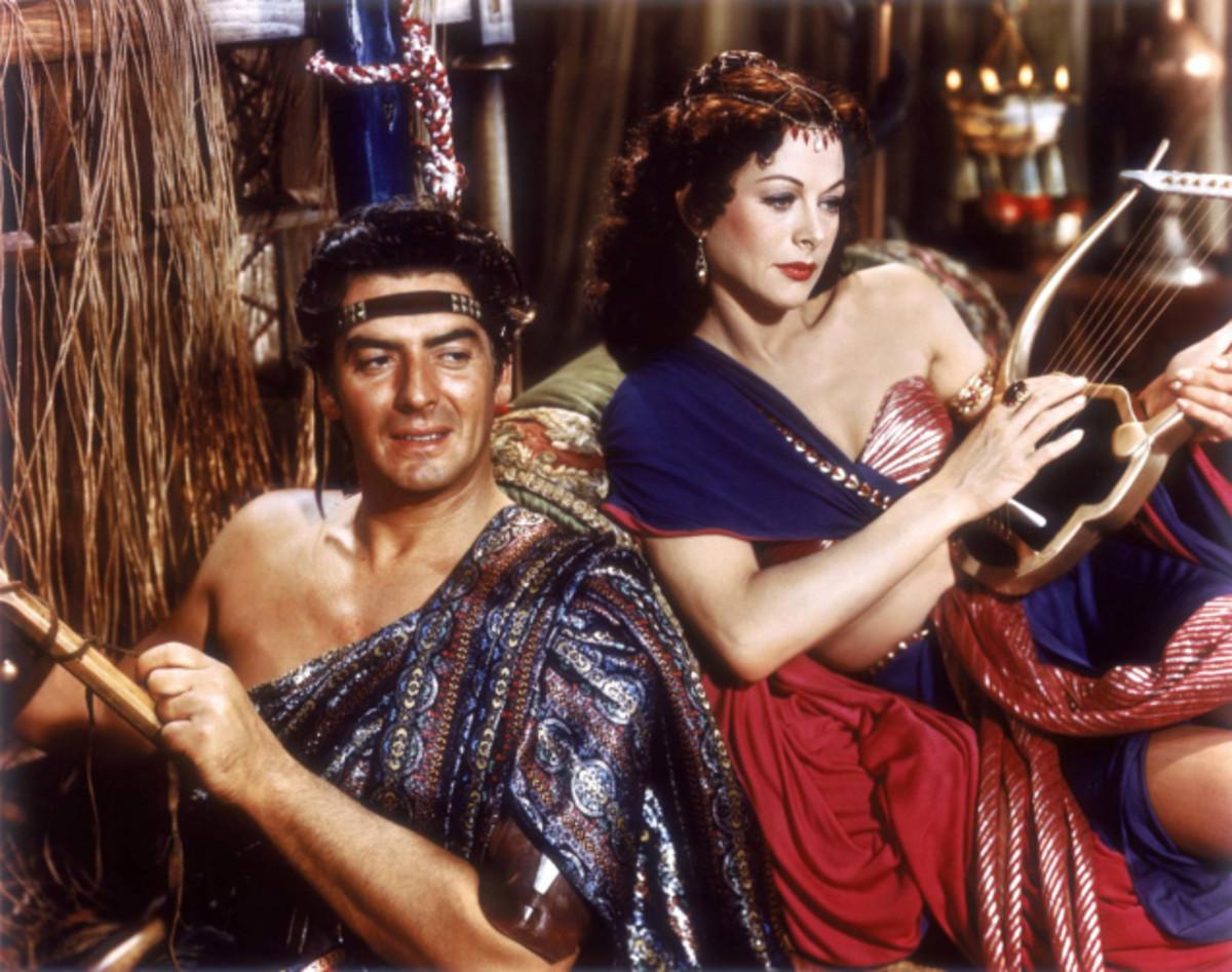 Movie version of Samson and Delilah.
