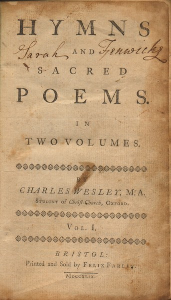 From http://scriptorium.lib.duke.edu/pathfinders/ religious/wesley-hymnal.html