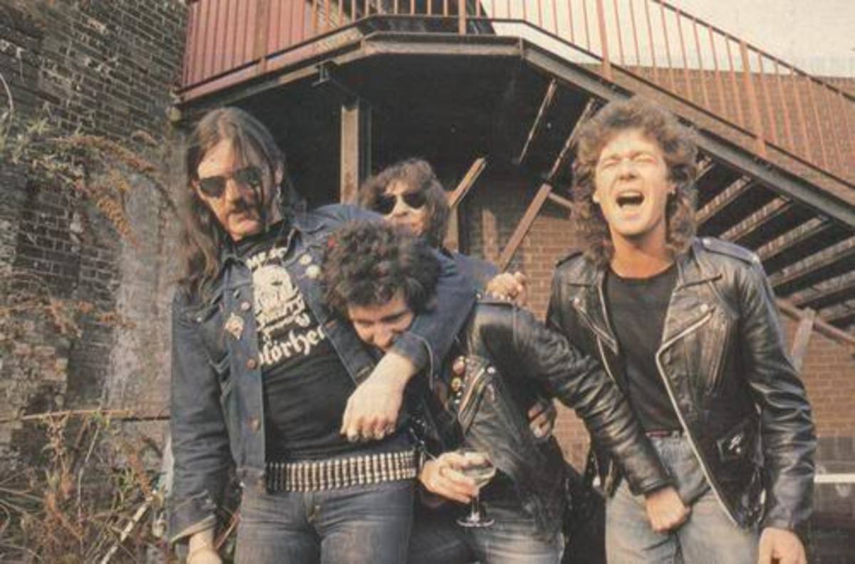 Motorhead The Band Featuring Lemmy.
