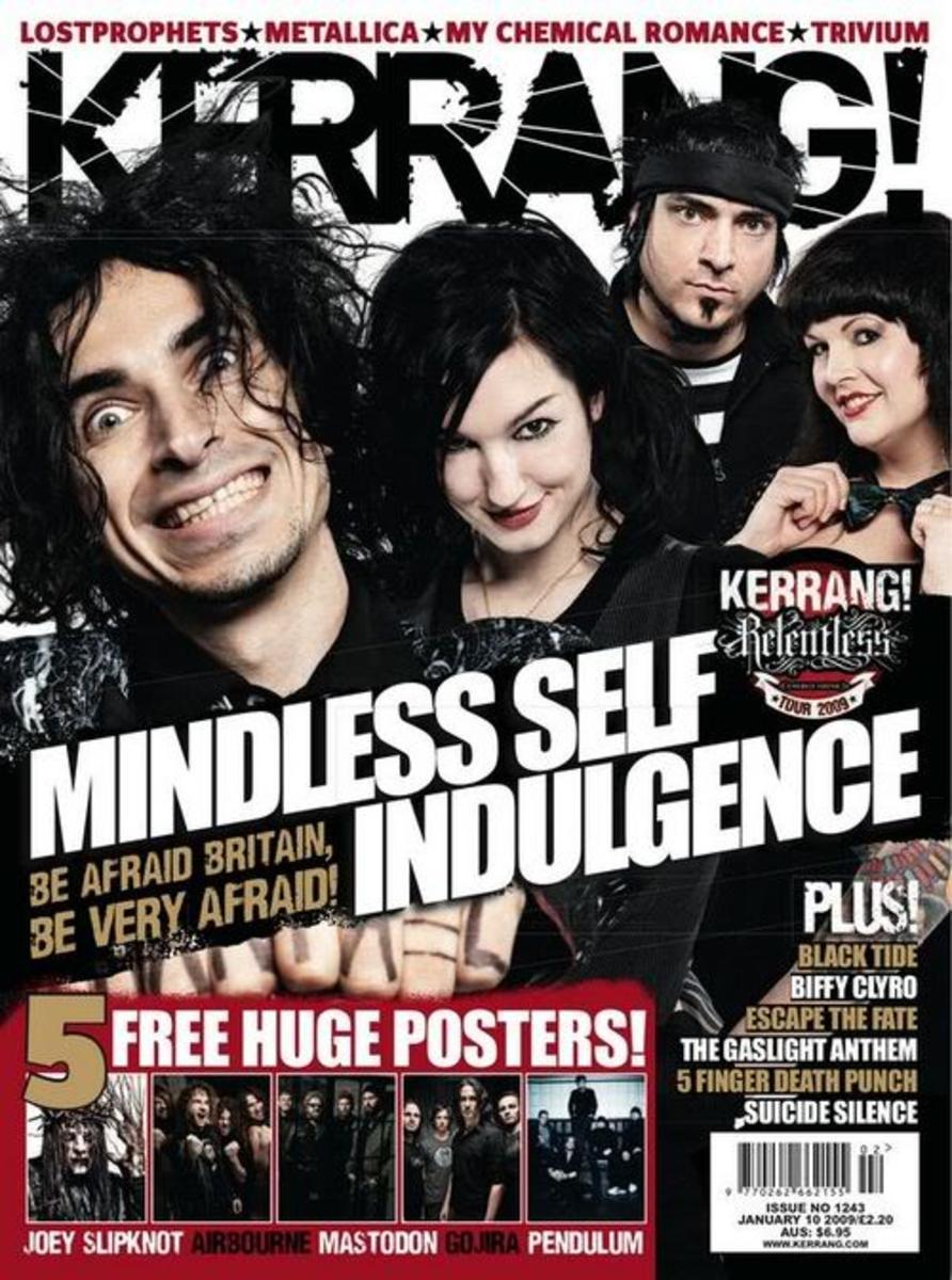 Kerrang Magazine And Radio Still Keeping The Faith Of Rock.