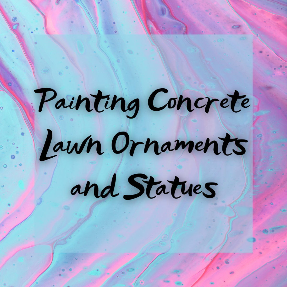 Learn how to successfully paint concrete statues and lawn ornaments in this easy-to-follow guide