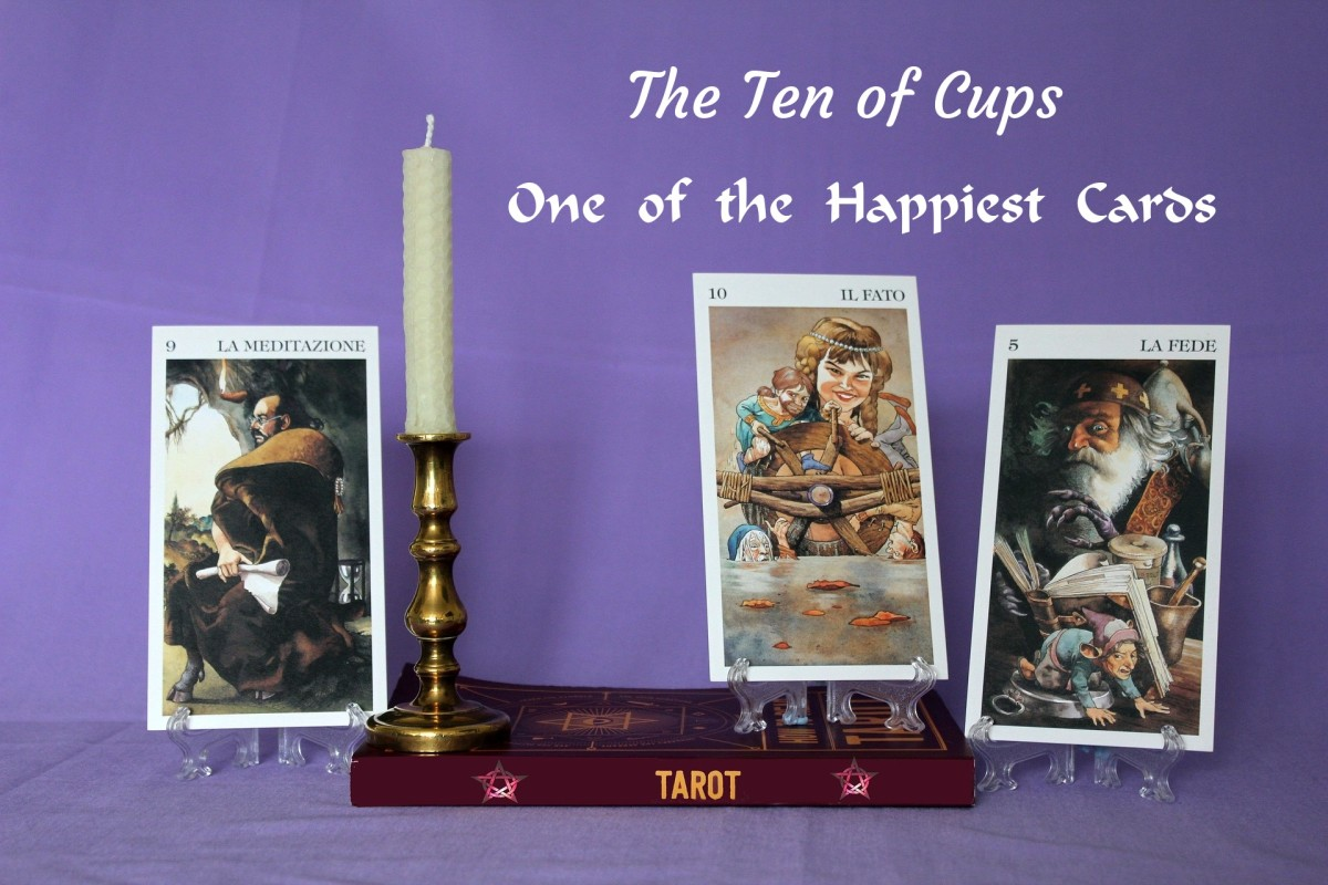 The Ten of Cups is a sign that you have reached emotional maturity. You're in a good relationship with yourself. You're also in tune with your inner child. You can now provide for relationships outside of yourself.