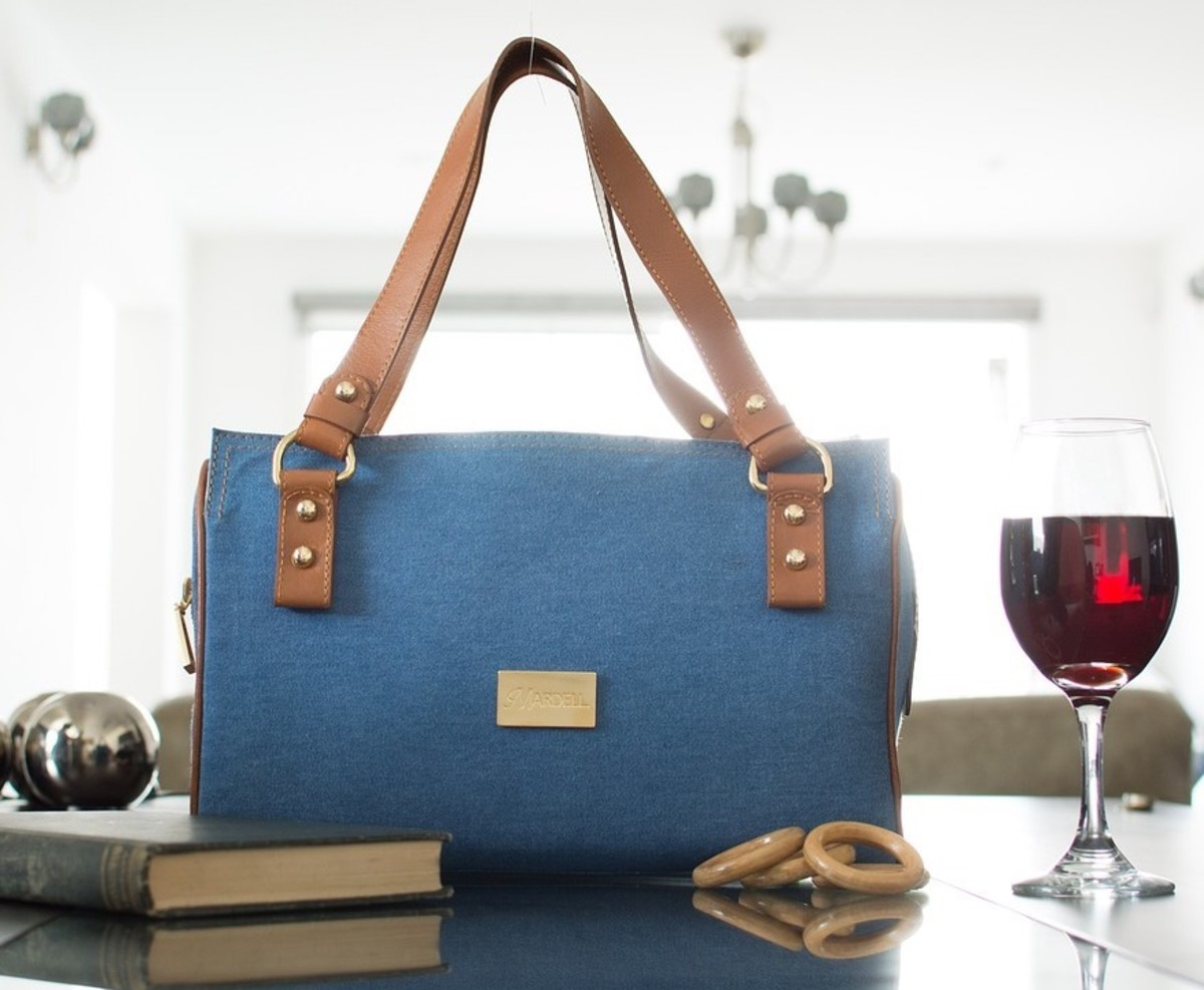It is what it looks like. Virgo has more impressive bags, not for everyday use, though. Except probably a Virgo knows better than to set a purse on a table, knowing that the bottoms of purses sit on floors, floorboards, and other places.