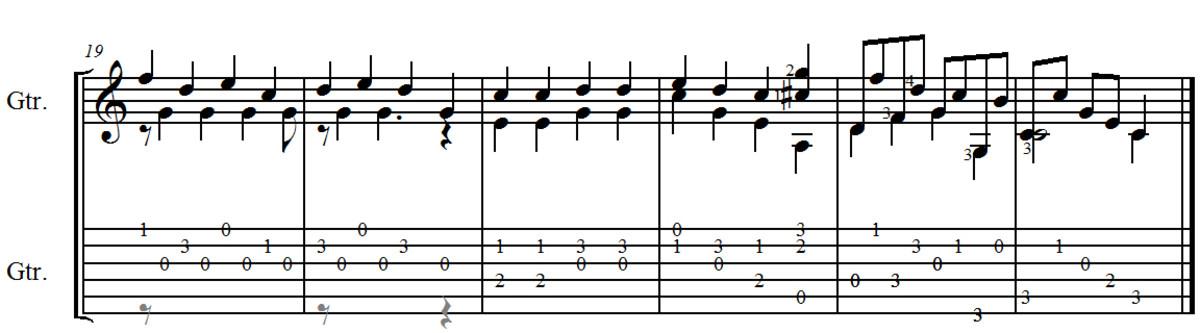 """F. Carulli - Opus 246 """"Andante"""""""