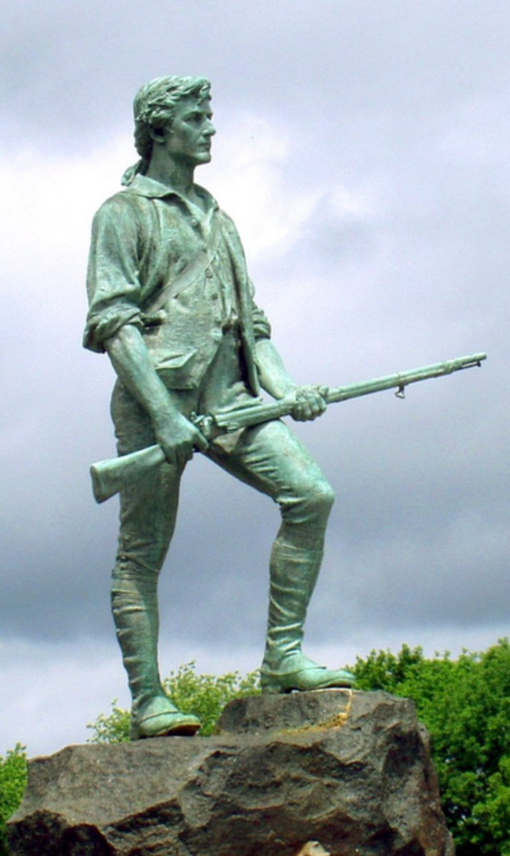 Lexington Minuteman Monument