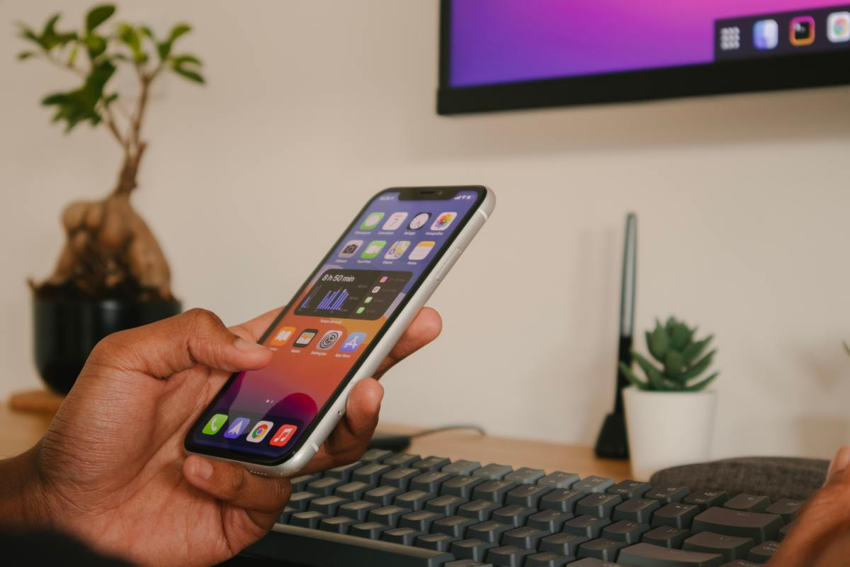 Remove distractions like your phone or the TV when you have work to get done