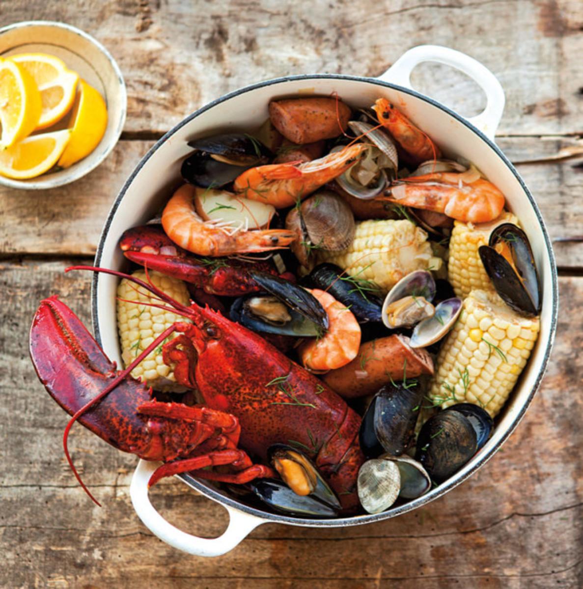 One-pot clambake