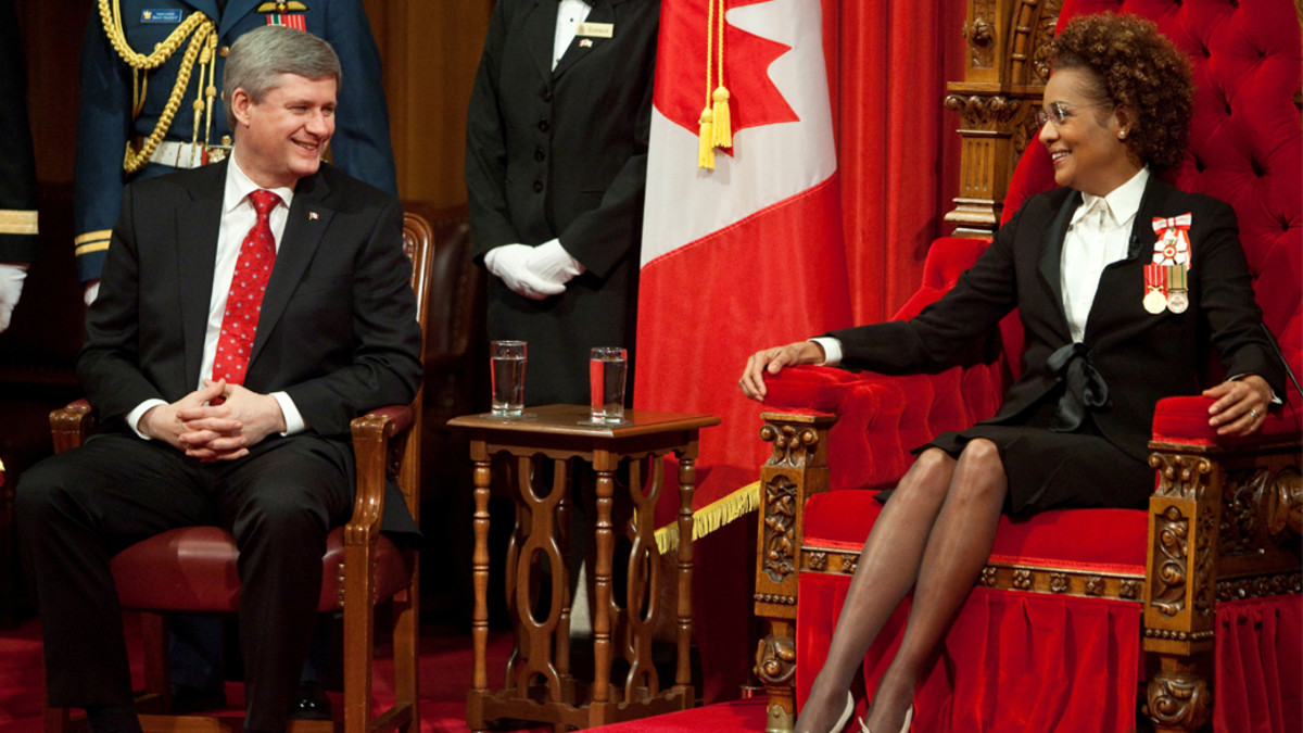 Photo: March 3, 2010 Source link lost; since Justin Trudeau was elected PM, it seems all photos and video from the previous administration have been purged.