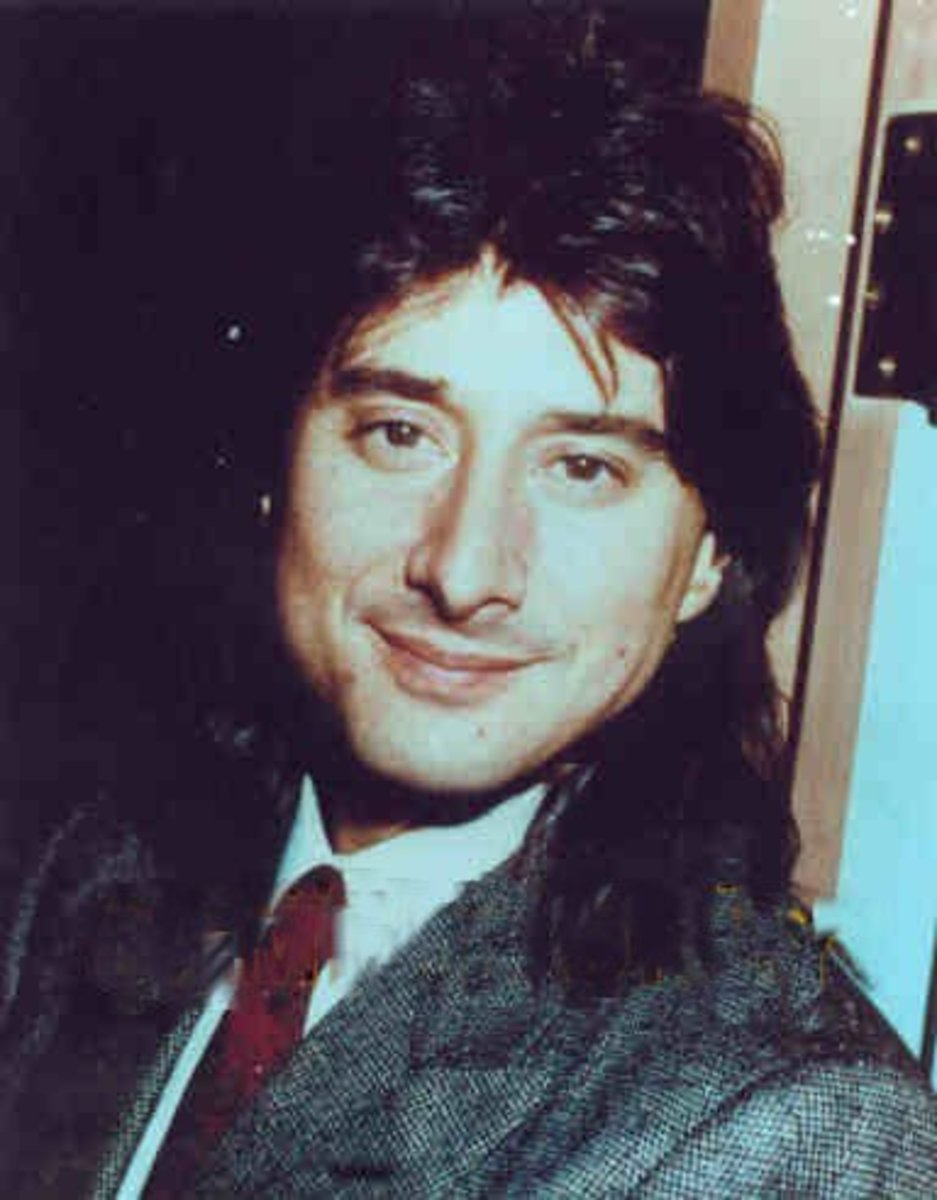 Ex-Journey lead singer Steve Perry, 1986