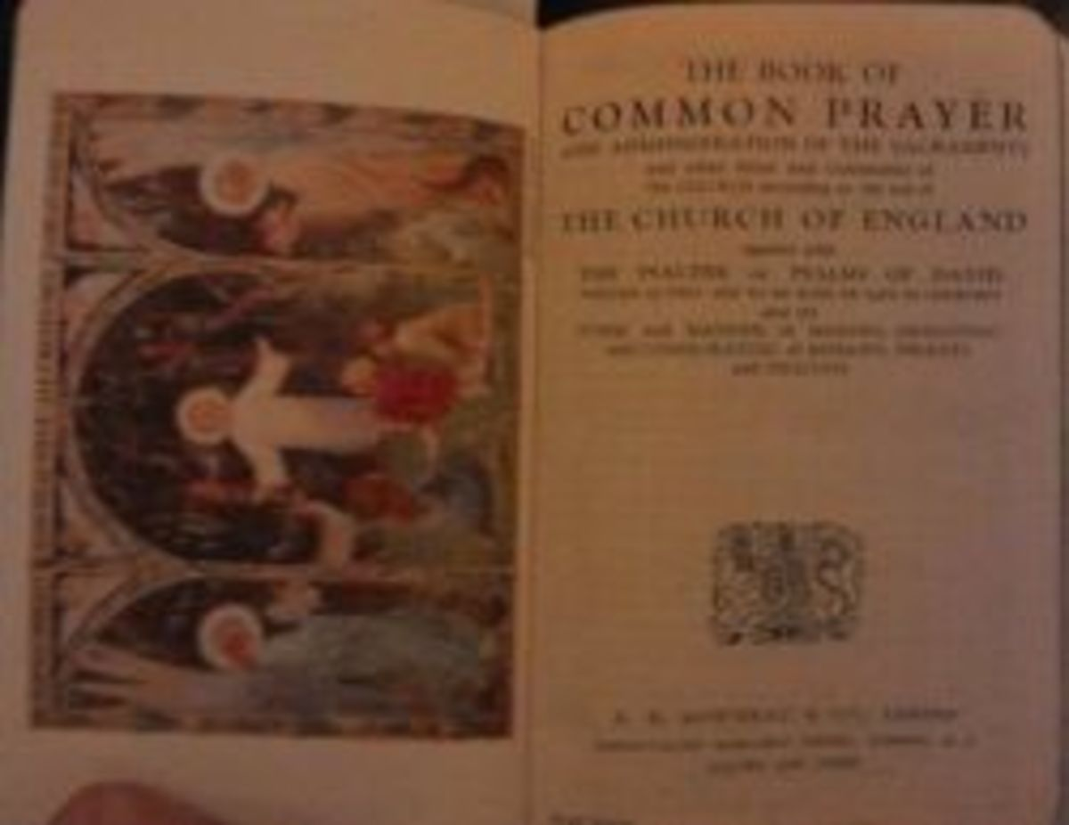 BCP & English Hymnal combination  Mowbray Royal Brevier
