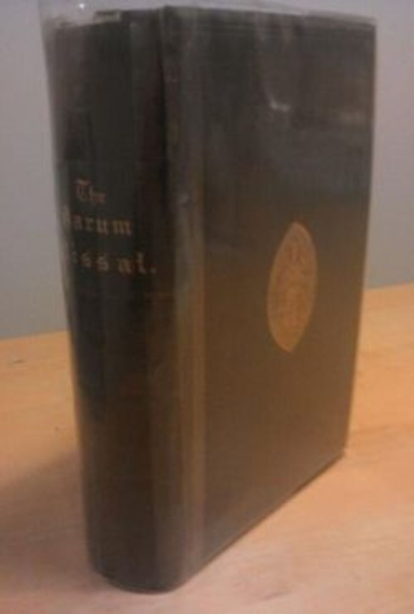Pearson Sarum Missal in English  1st Edition