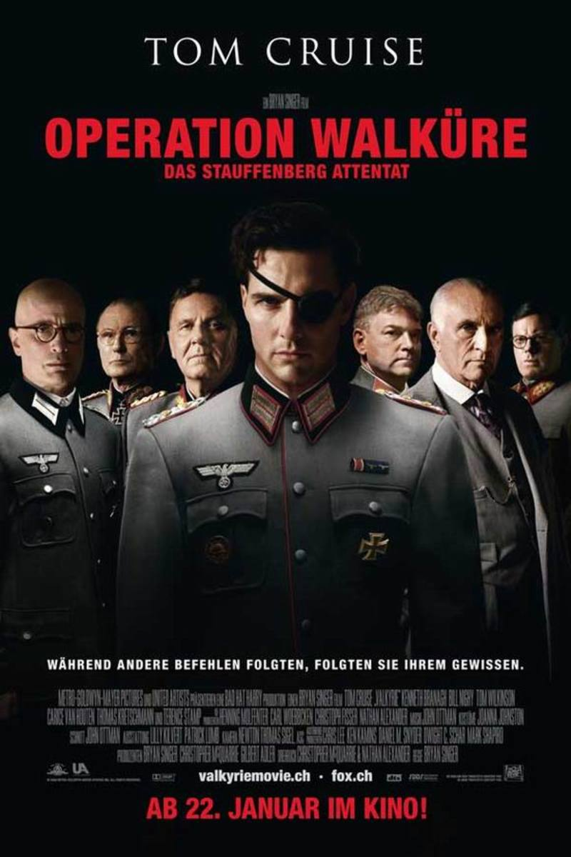 Valkyrie (2008) German poster