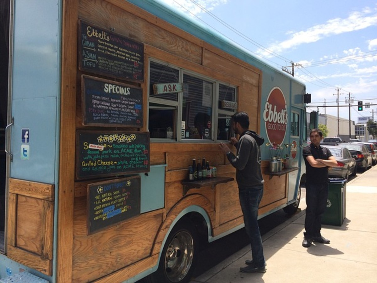 Taco trucks are sure to serve foods containing the tomatillo. Both the trucks and the food item are gaining popularity.