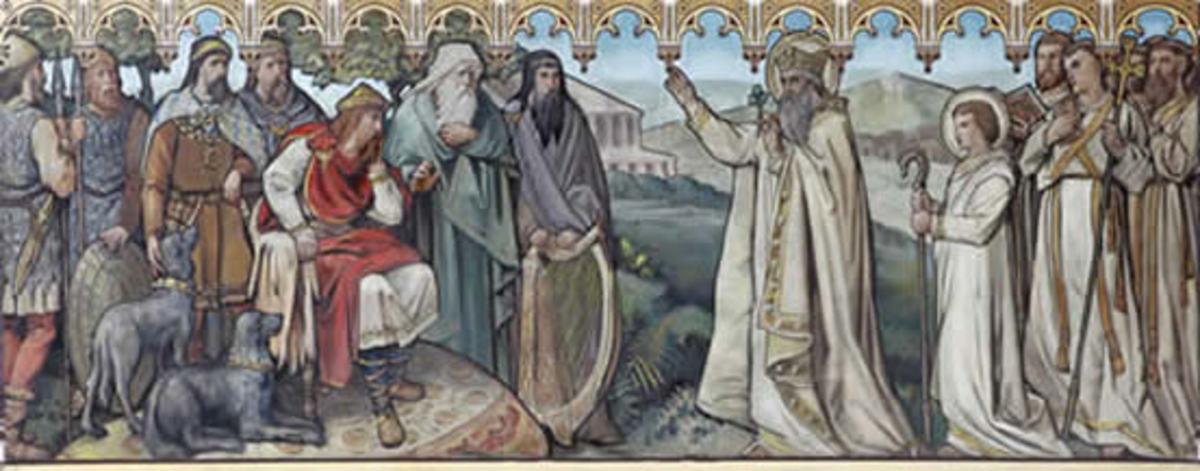 Laoghaire meets St Patrick