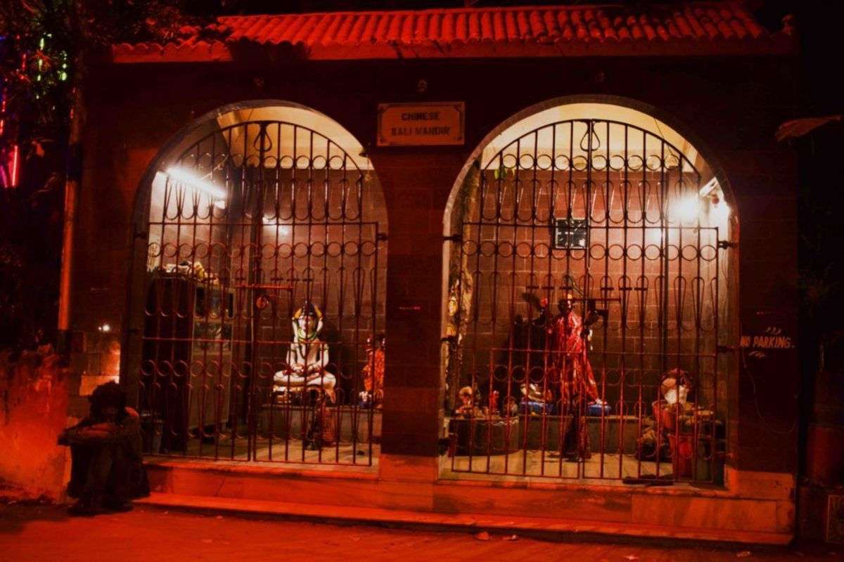 . Located in Kolkata's Tangra area, the Chinese Kali temple is the only temple of its kind where Chinese delicacies are offered to appease Goddess Kali, the deity of the temple.