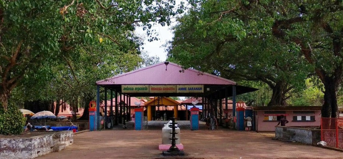 Kodungallur Bhagavathy Temple is situated in Kodungallur, Thrissur district, Kerala. The temple is dedicated to Goddess Bhadrakali, a form of the Hindu Goddess Kali.