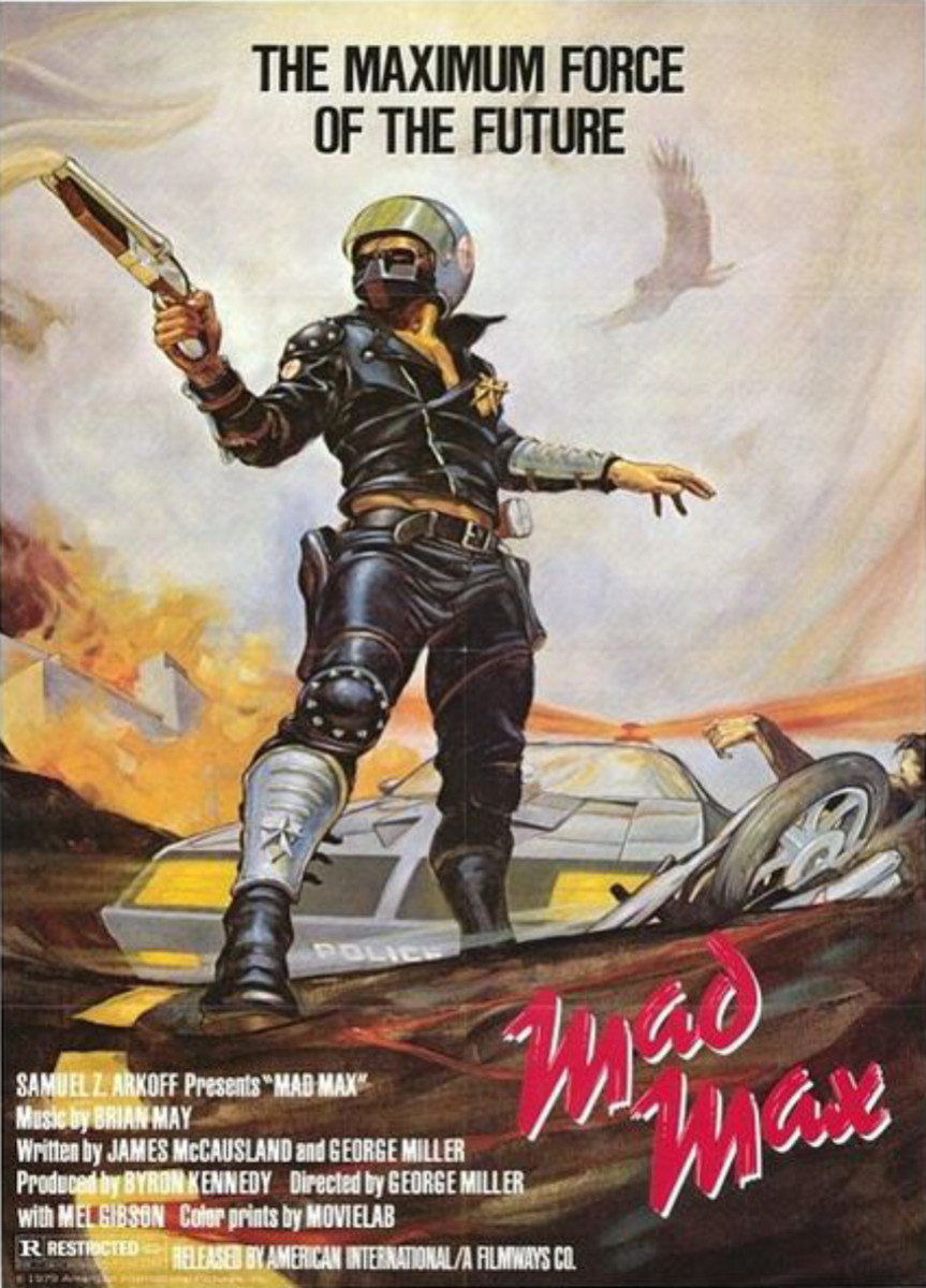 "Poster for ""Mad Max"""