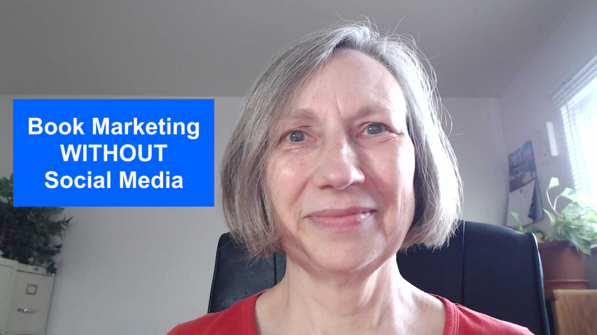 Can you market your self-published book without using social media?