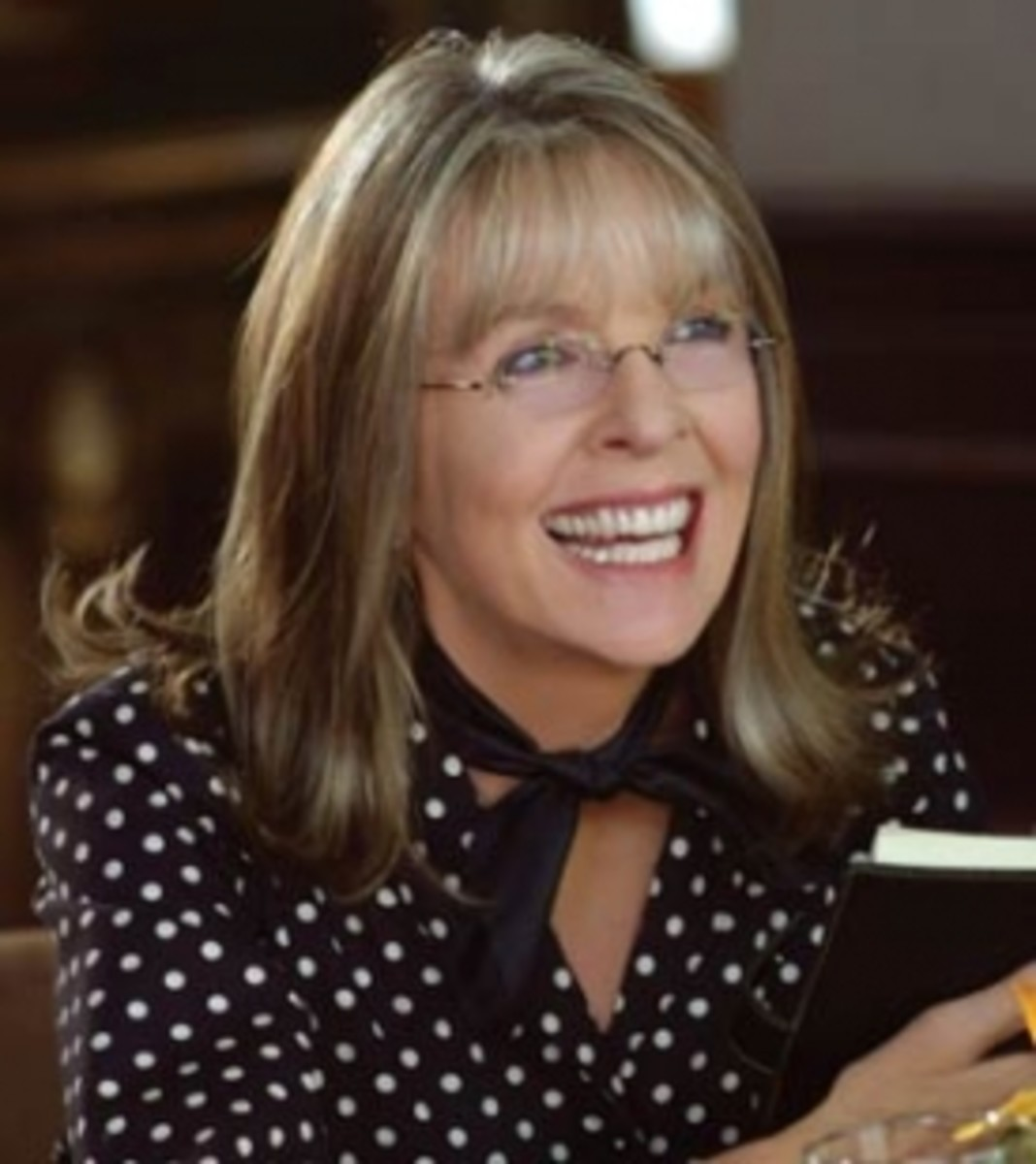 "Diane Keaton in ""Because I said so"""