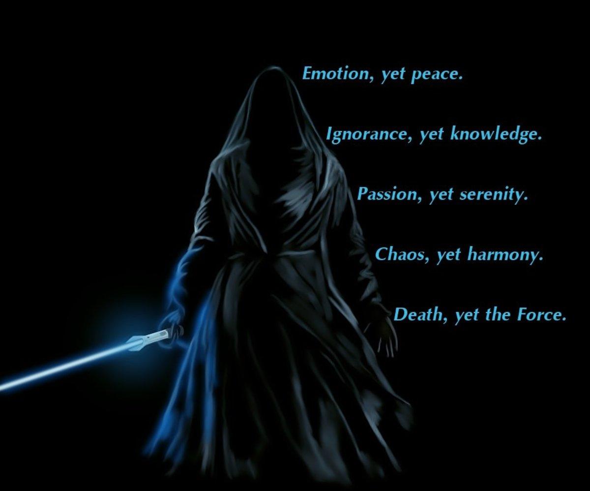 Gray Jedi Code (shortened)