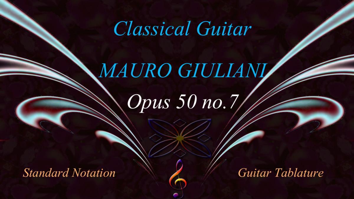 Mauro Giulian Opus 50 no.7