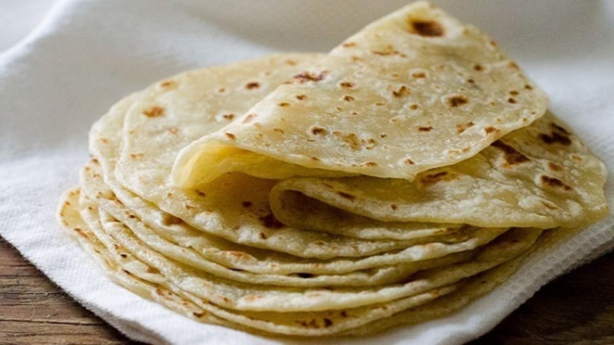 Mughali roti