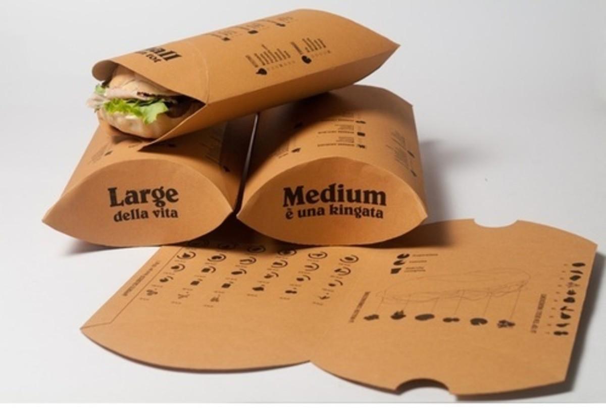 Kathi roll packings