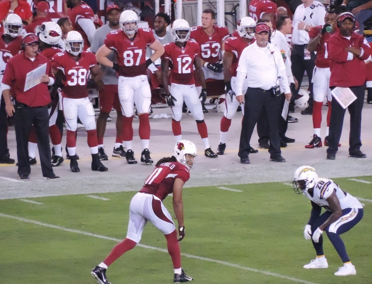 Larry Fitzgerald is one of the top receivers in NFL history.