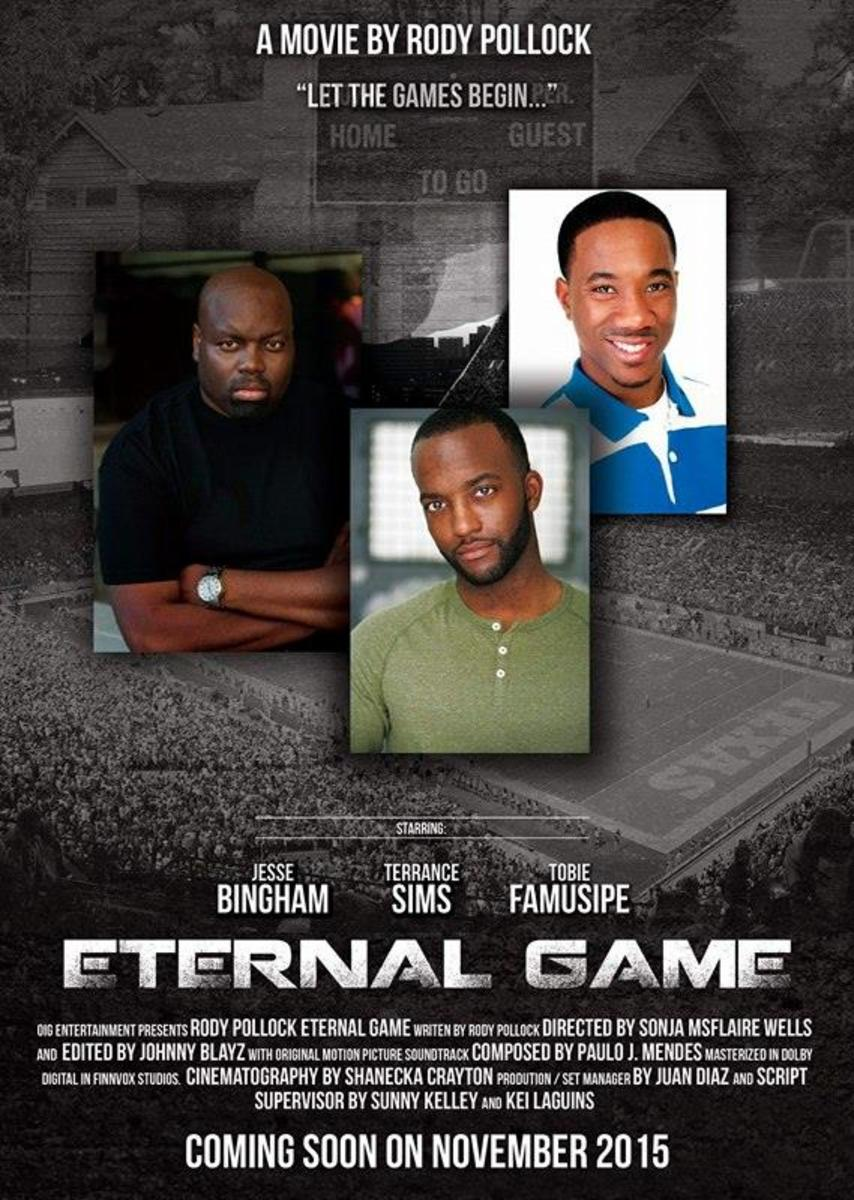 Kei works on this independent film, Eternal Game, as Assistant Director.