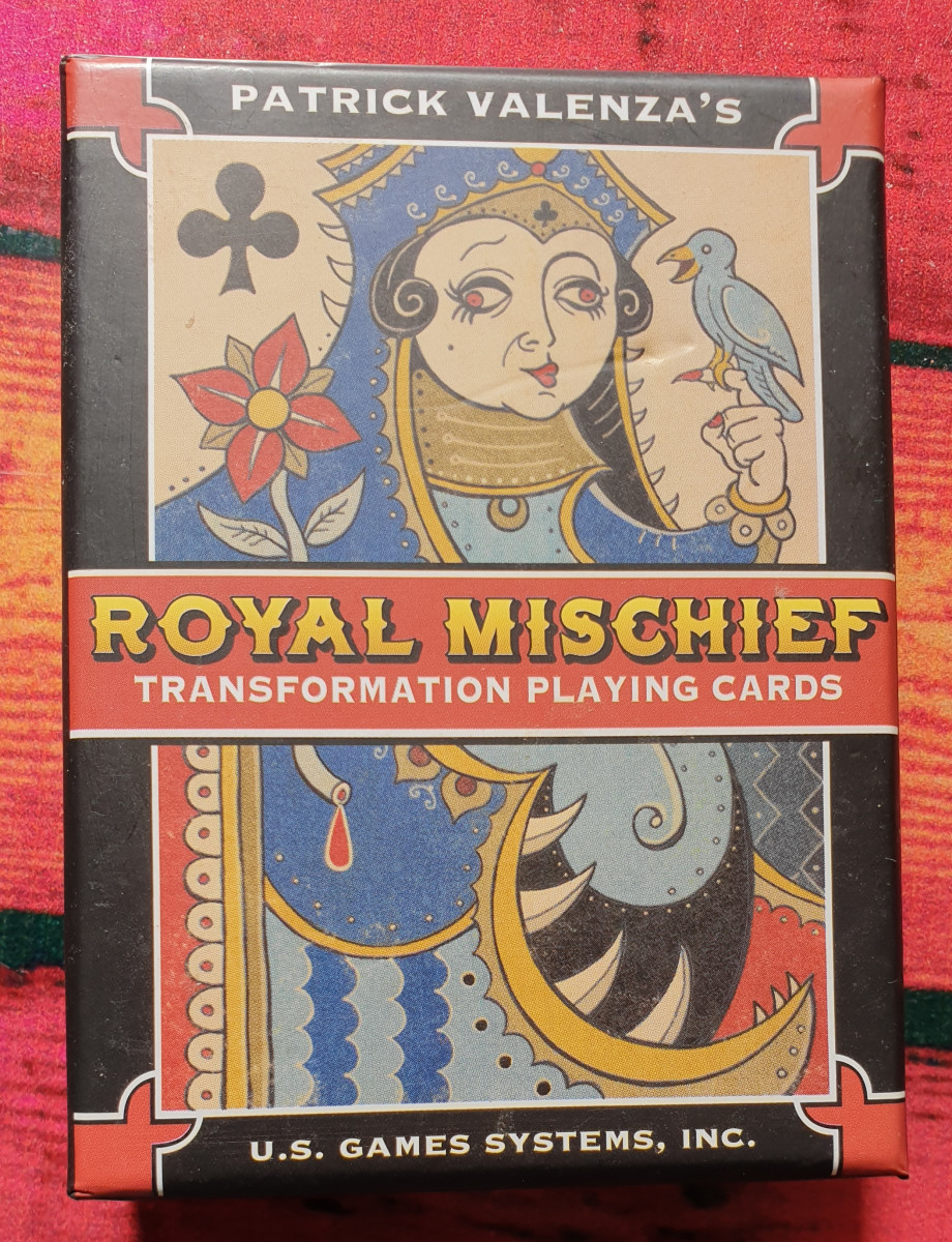 Royal Mischief Ttransformational Playing Cards. Photo by author.