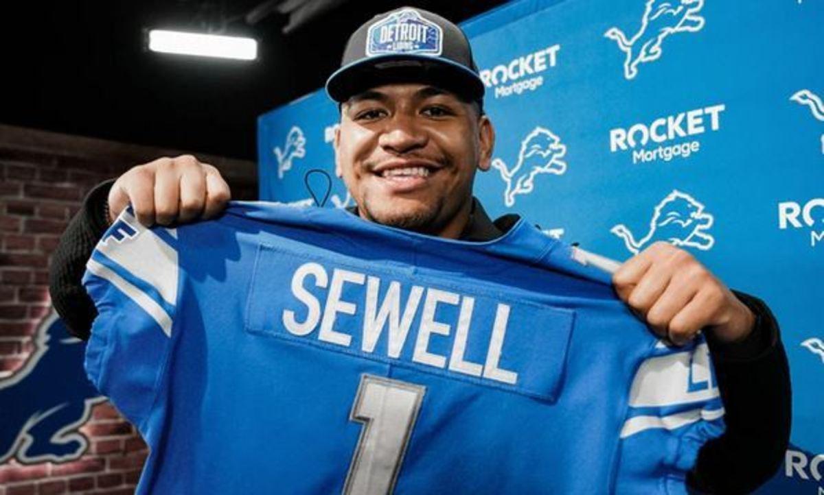 Penei Sewell, OT, Detroit Lions