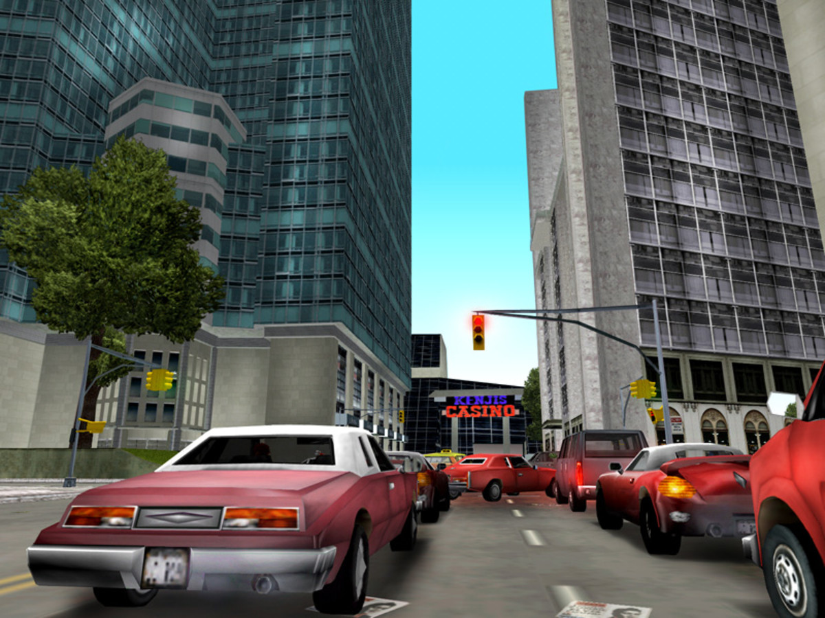 Switching from top-down 2D to 3D graphics, Grand Theft Auto III is credited for defining wide-open sandbox.