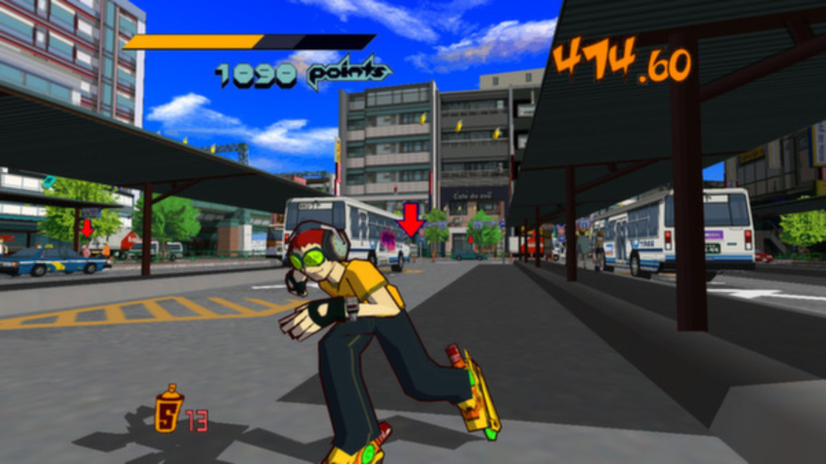 Jet Set Radio pionnered the use of cel-shading in video games