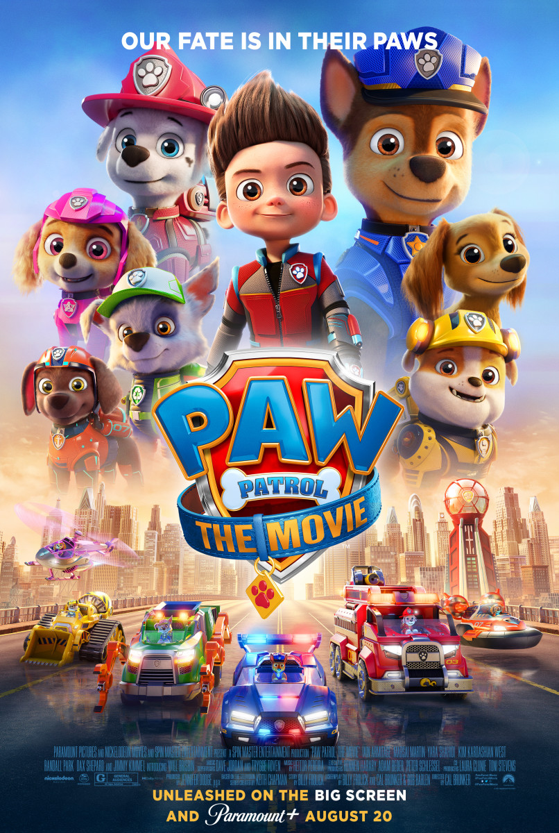 """""""PAW Patrol: The Movie"""" Theatrical Poster"""