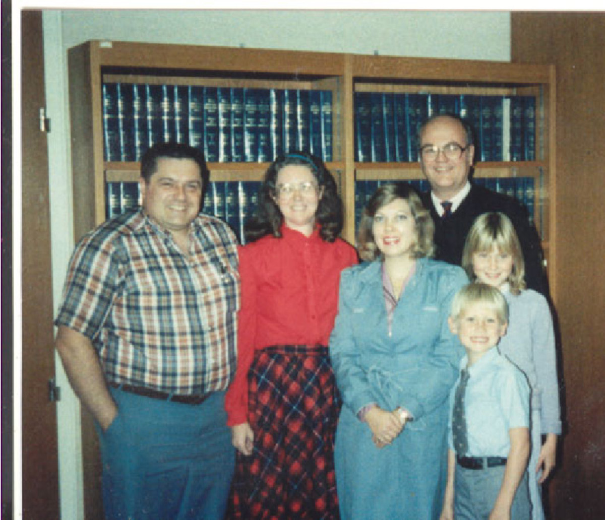 Adoption Day, 1984, in Judge's Chambers