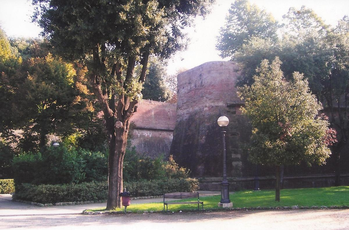 Another view, Old wall of Siena