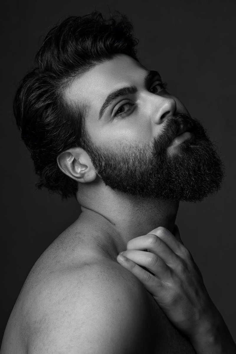 Growing a pointed beard isn't as difficult as it might seem.