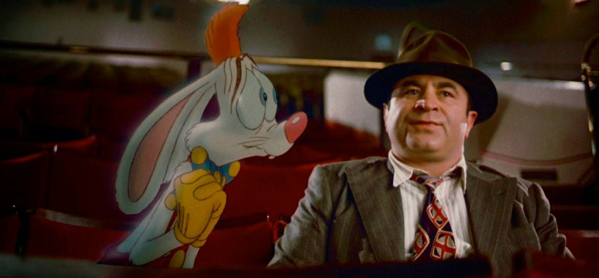 As remarkable as it is entertaining, 'Who Framed Roger Rabbit' has always been one of my very favourite films.