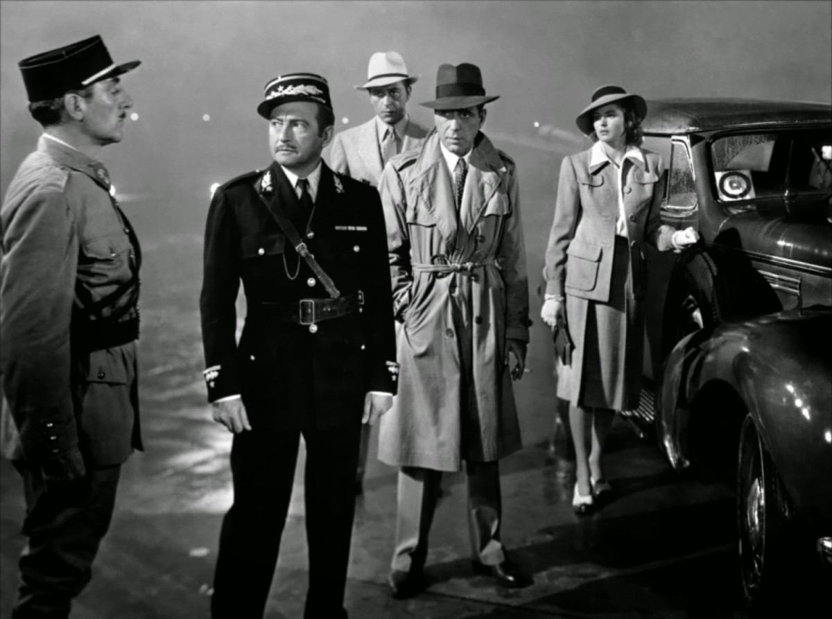 They'll always have Paris... The iconic war-time masterpiece 'Casablanca'.
