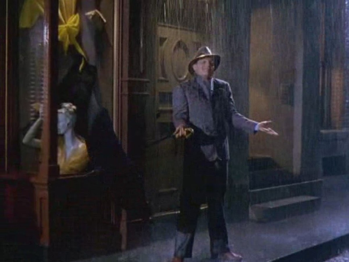 The classic musical 'Singin' In The Rain' certainly put a smile on my face...