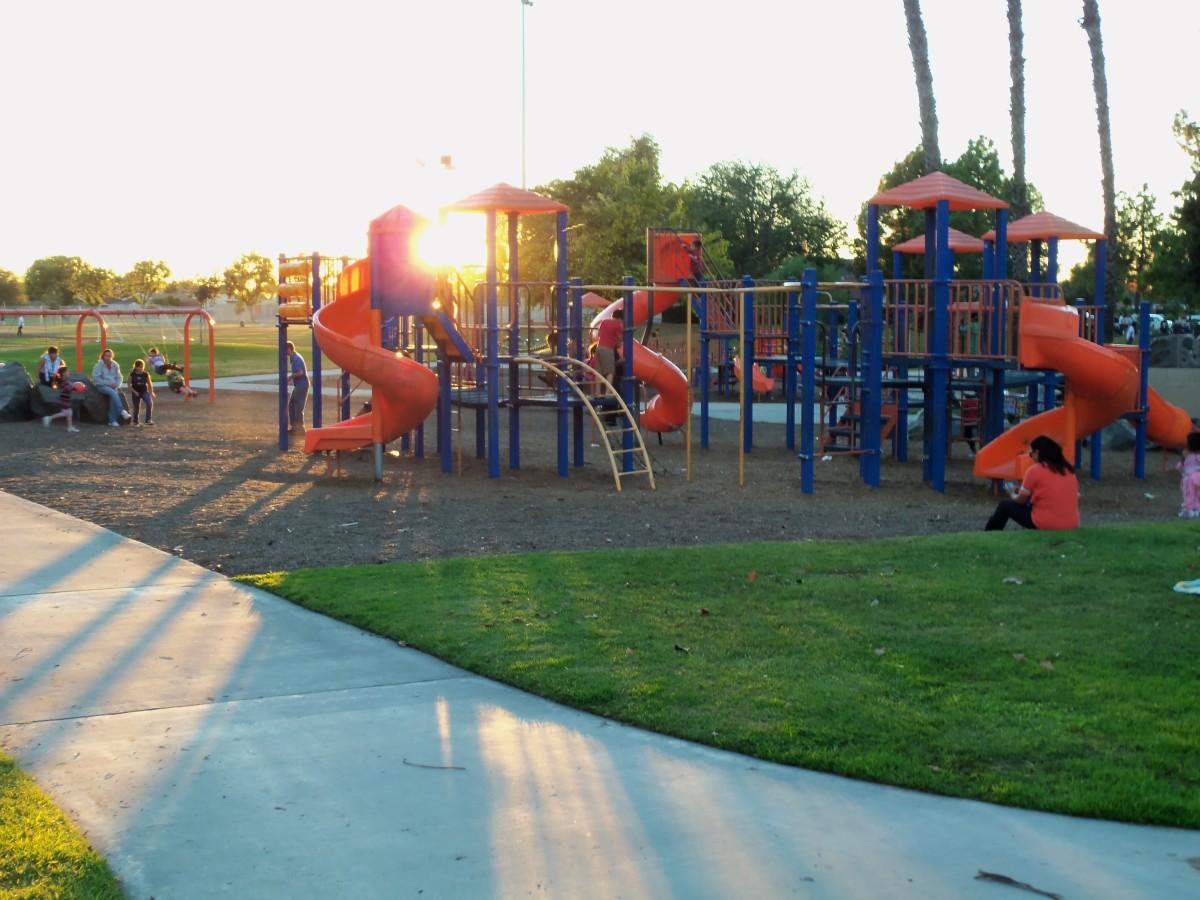 One Segment of the Children's Playground