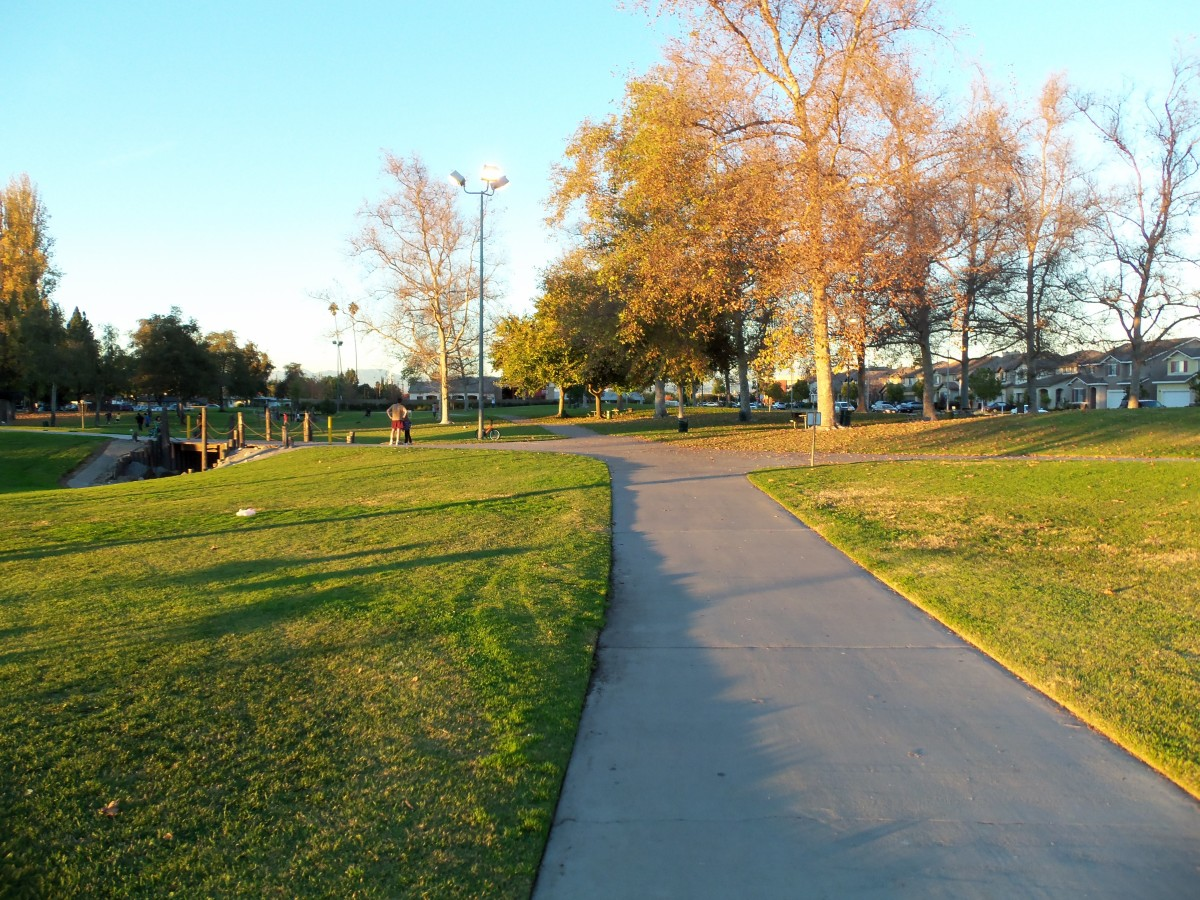 - Walking / Jogging Paths extend the entire length and perimeter of Twila Reid Park -