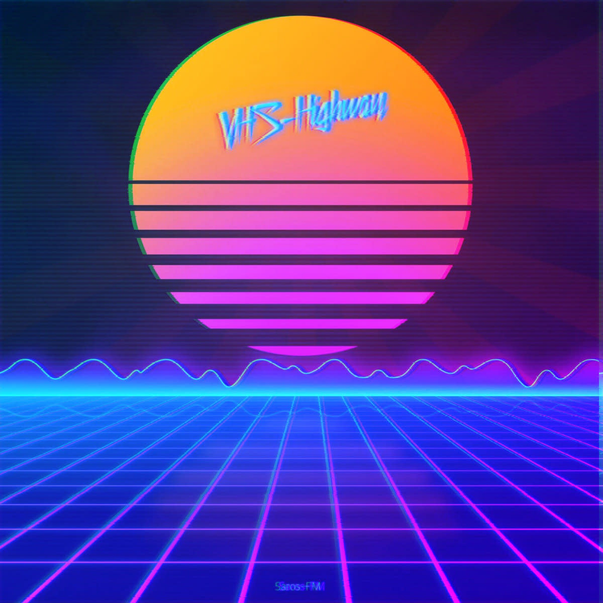 synth-album-review-vhs-highway-by-saros-fm
